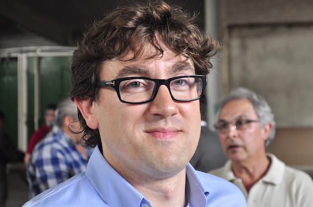 Eneko Andueza, concejal socialista y escritor taurino.