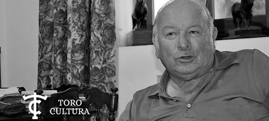 Don Álvaro Domecq con Toro Cultura